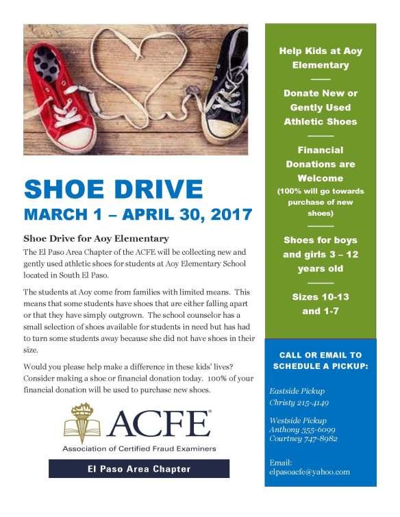 Shoe Drive Flyer 2